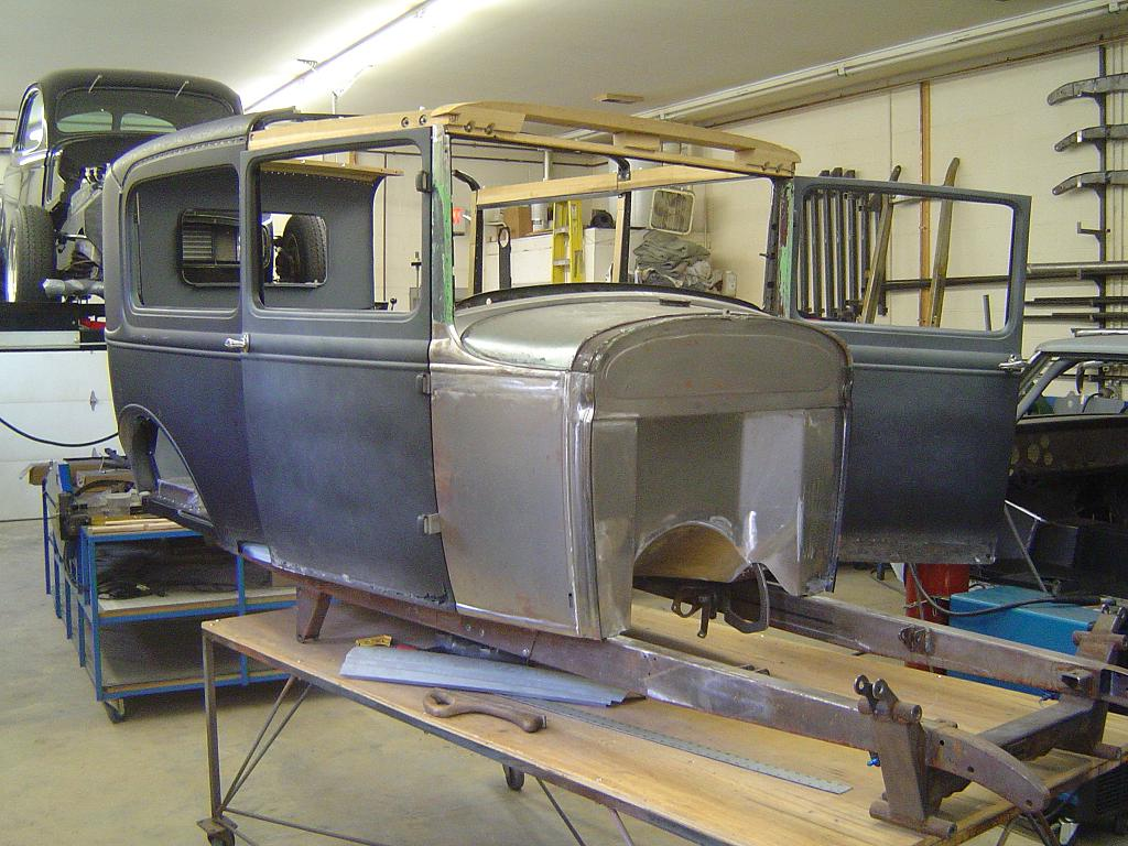 1930 Model A Ford Sedan Fabrication