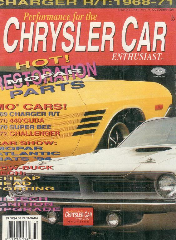 Chrysler Car Magazine