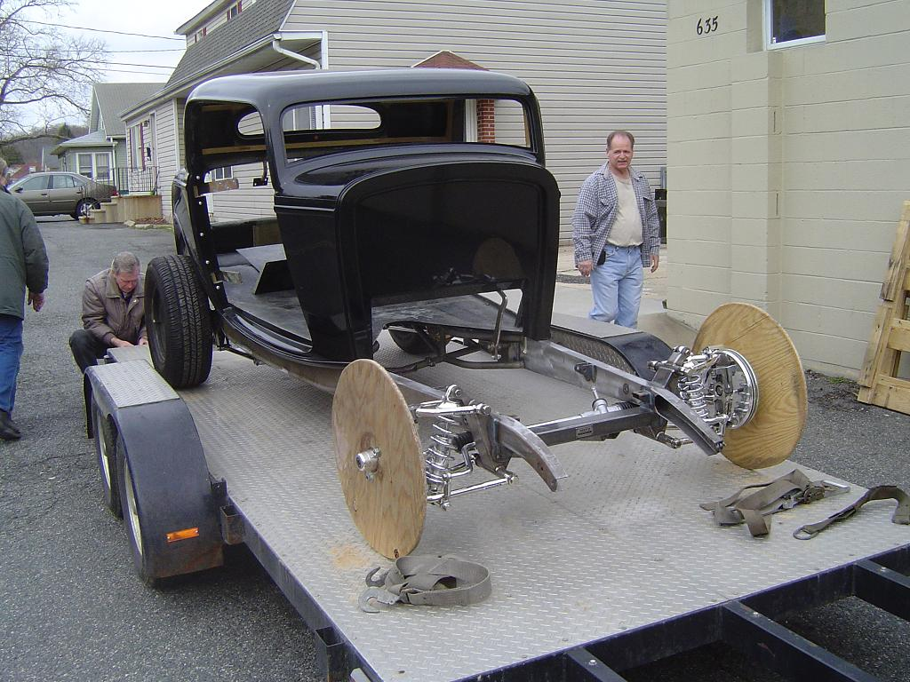 Hot Rod Ford Frame